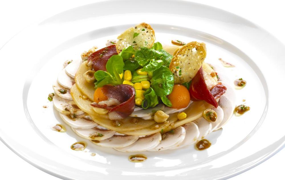 Recette salade chic et choc 750g for Entree facile et chic