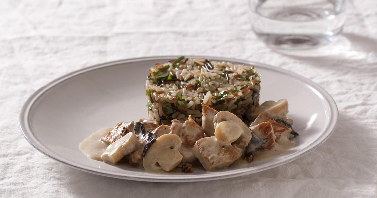Recette blanquette de veau aux champignons de paris la - Comment cuisiner une blanquette de veau ...
