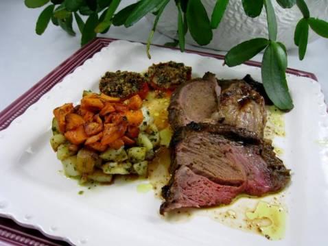 Recette gigot d 39 agneau au miel moutarde et curry 750g - Comment cuisiner la selle d agneau ...
