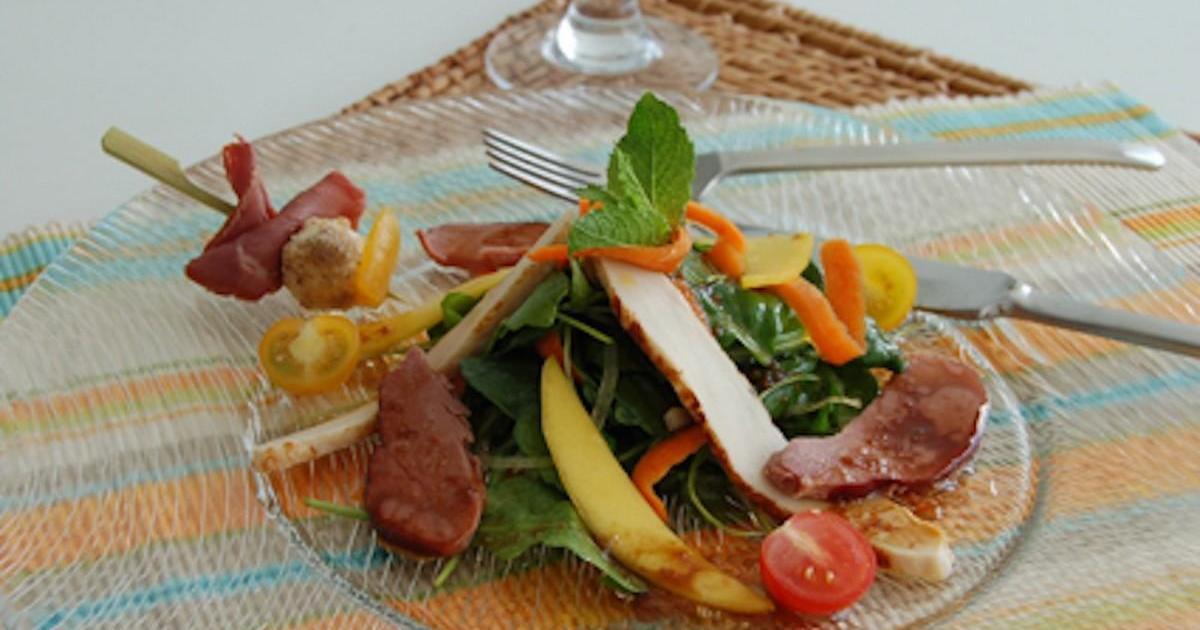 Recettes de magret de canard la mangue les recettes for Documentaire cuisine gastronomique