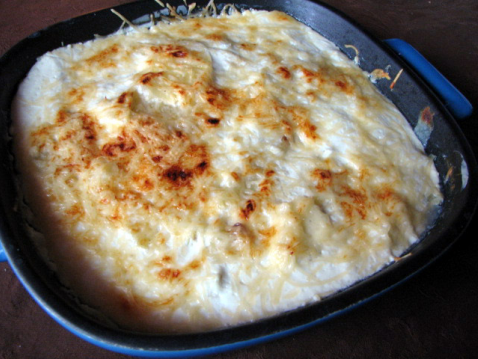 recette gratin dauphinois au fromage blanc et courgettes 750g. Black Bedroom Furniture Sets. Home Design Ideas