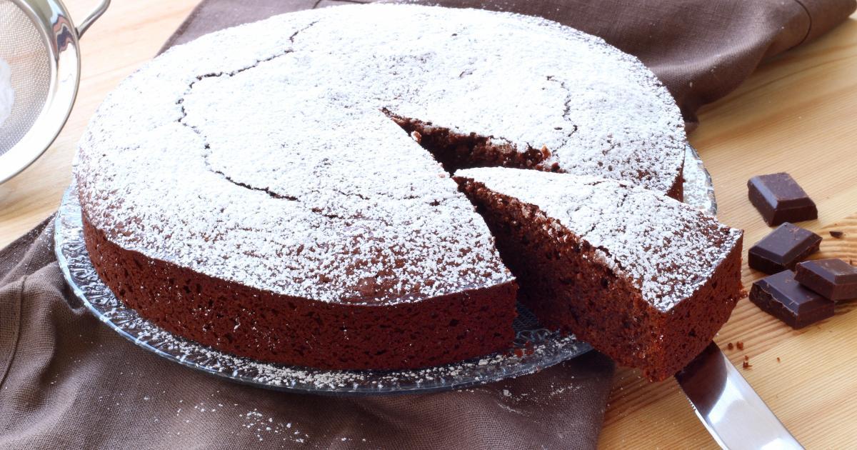 recette - gâteau au chocolat en pas à pas