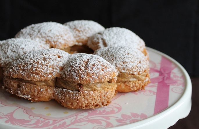 recette paris brest et sa p te choux aux amandes 750g. Black Bedroom Furniture Sets. Home Design Ideas