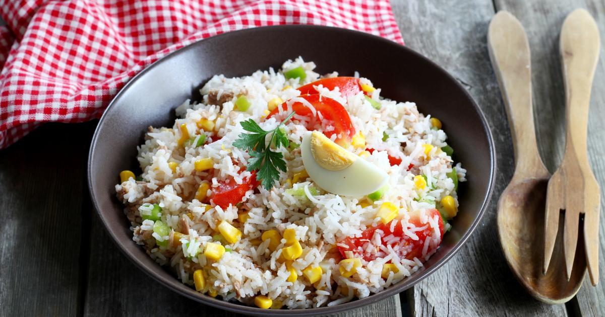 recettes de salade de riz au thon les recettes les mieux. Black Bedroom Furniture Sets. Home Design Ideas