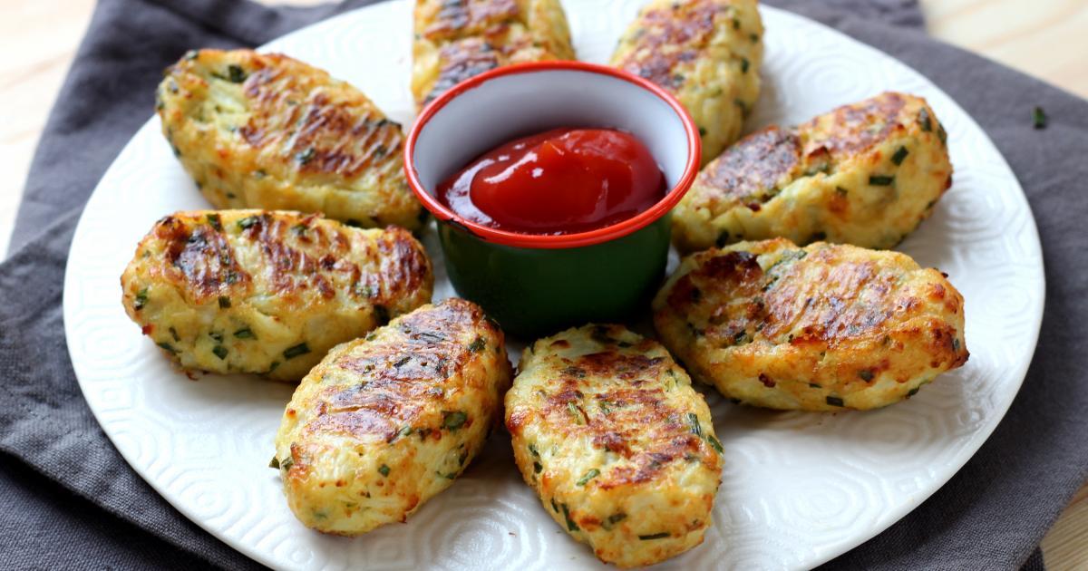 Recette croquettes de chou fleur au parmesan en vid o - Cuisiner tous les jours avec thermomix ...