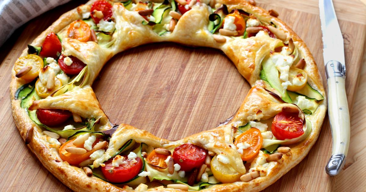 Recettes de tarte aux courgettes et tomates les recettes les mieux not es - Cuisiner avec une bouilloire ...