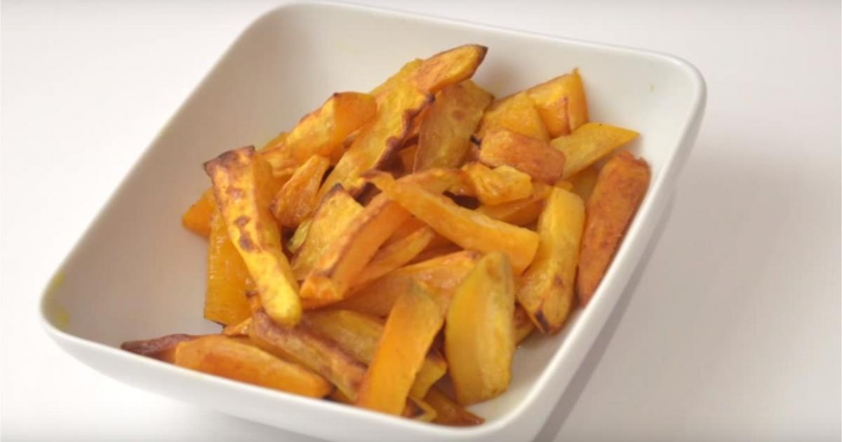 Recette frites de patates douces au micro ondes en vid o - Frite au micro onde ...