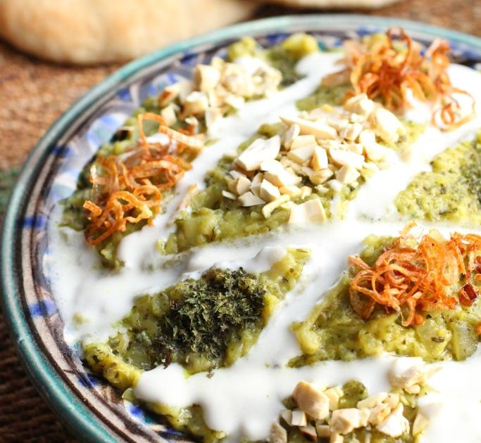 Recette Dip Iranien Daubergines Au Roquefort G - Cuisine iranienne