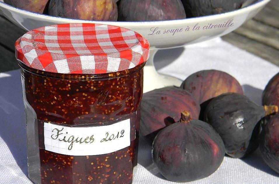 Recette confiture de figues rapide d 39 enfance 750g - Cuisiner des figues fraiches ...