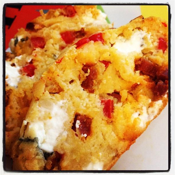 Recette Cake Poivron Feta