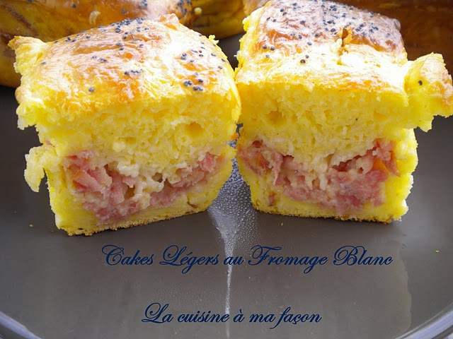 Cake Aux Fromages Blanc