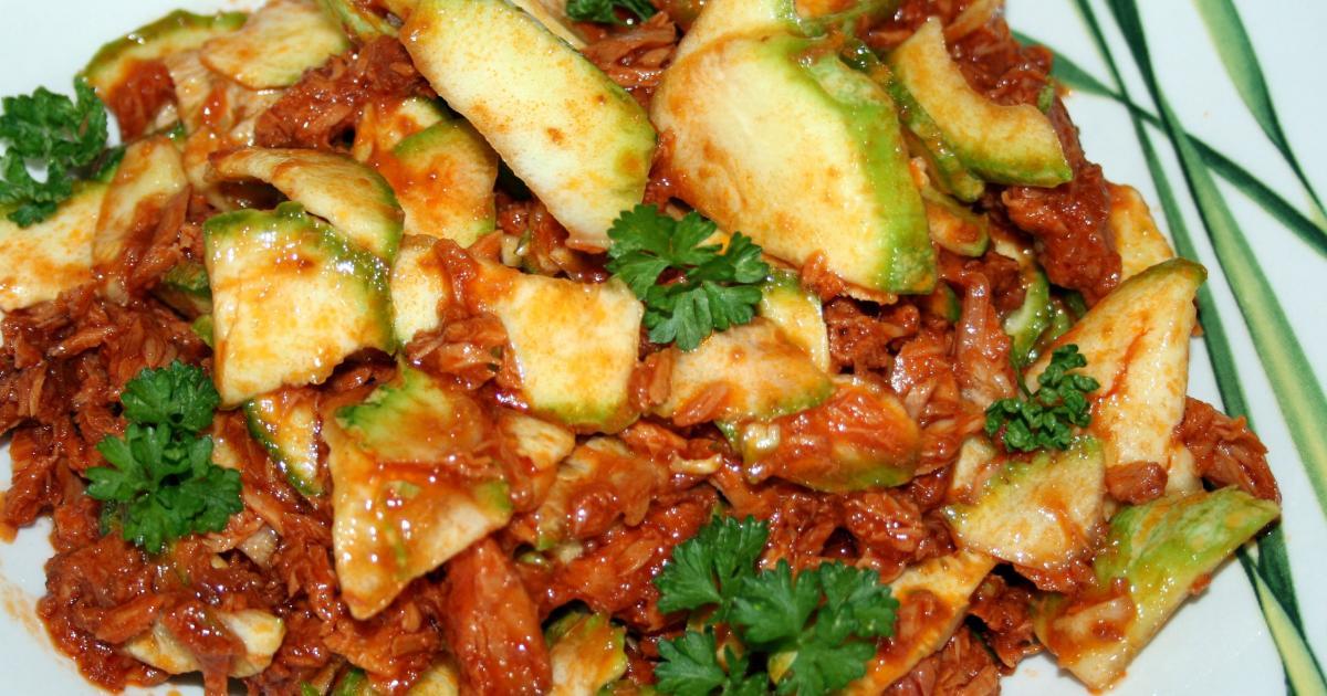 Recette carpaccio de courgettes ronde au thon la - Comment cuisiner les courgettes rondes ...