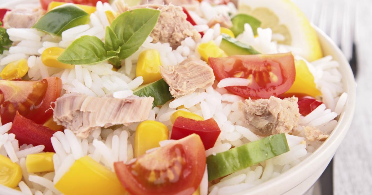 Recettes De Salade De Riz La Selection De 750g