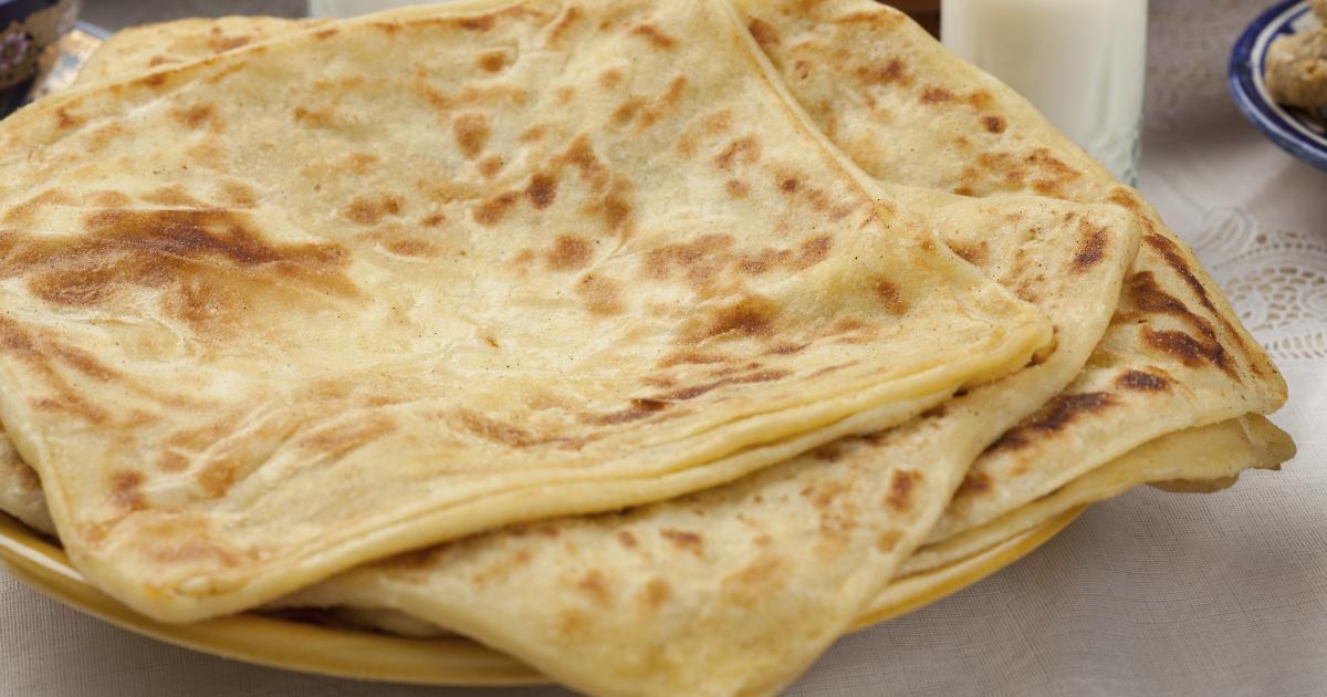 Recette cr pes feuillet es ou msemmens en vid o for Recette mojito grande quantite
