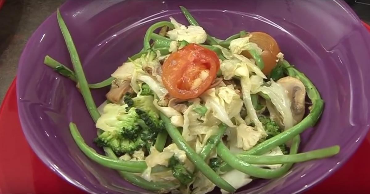 Recettes avec des haricots verts les recettes les mieux - Cuisiner les haricots plats ...