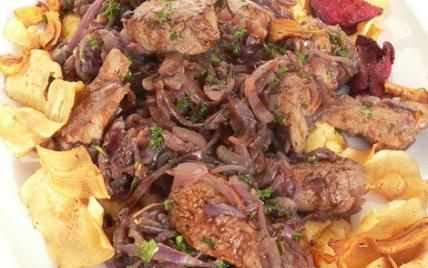 Recette foie de veau la v nitienne 750g - Cuisiner le foie de veau ...
