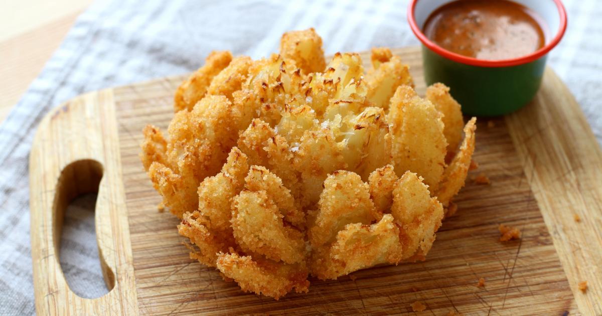 Recette fleur d 39 oignon frit en pas pas - Documentaire cuisine gastronomique ...