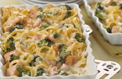 Recette souffl au saumon et aux brocolis 750g - Cuisiner brocolis surgeles ...