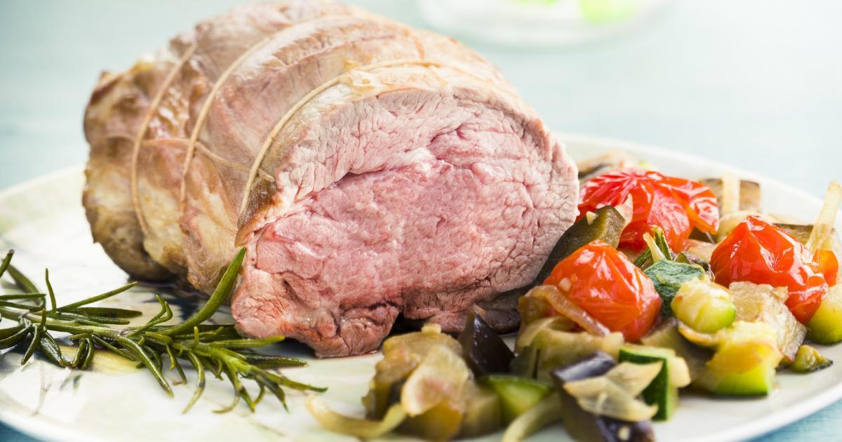 Recette mini r ti d agneau et ses l gumes du soleil 750g - Roti d agneau cuisson ...