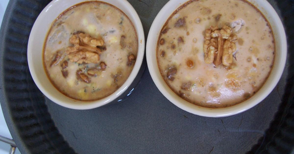 Recette flan aux poires noix et bleu d auvergne 750g for Cuisine 750g