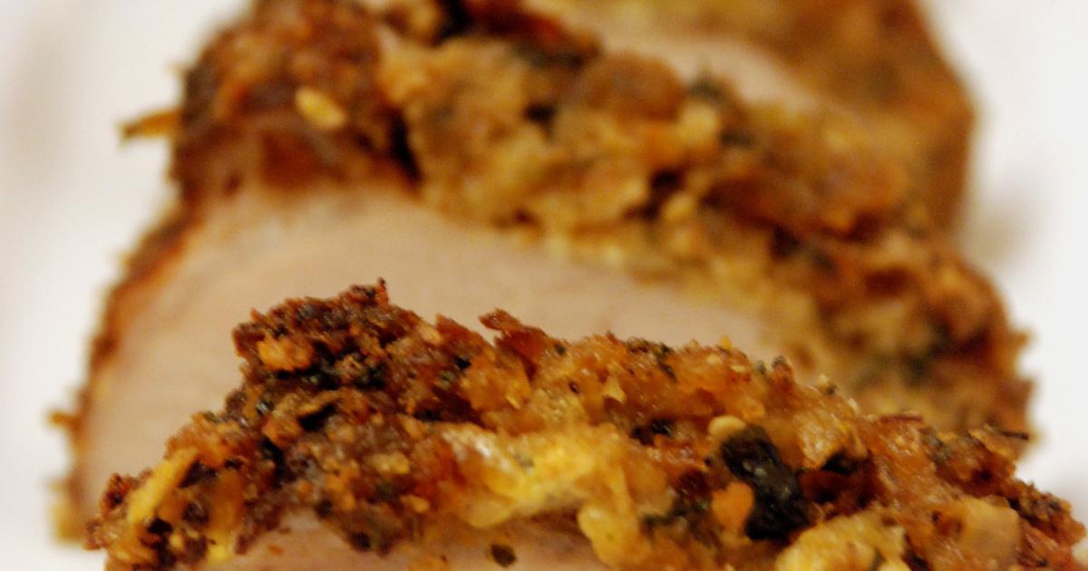 Recettes de filet mignon r ti en cro te d 39 pices les - Comment cuisiner un filet mignon de porc ...
