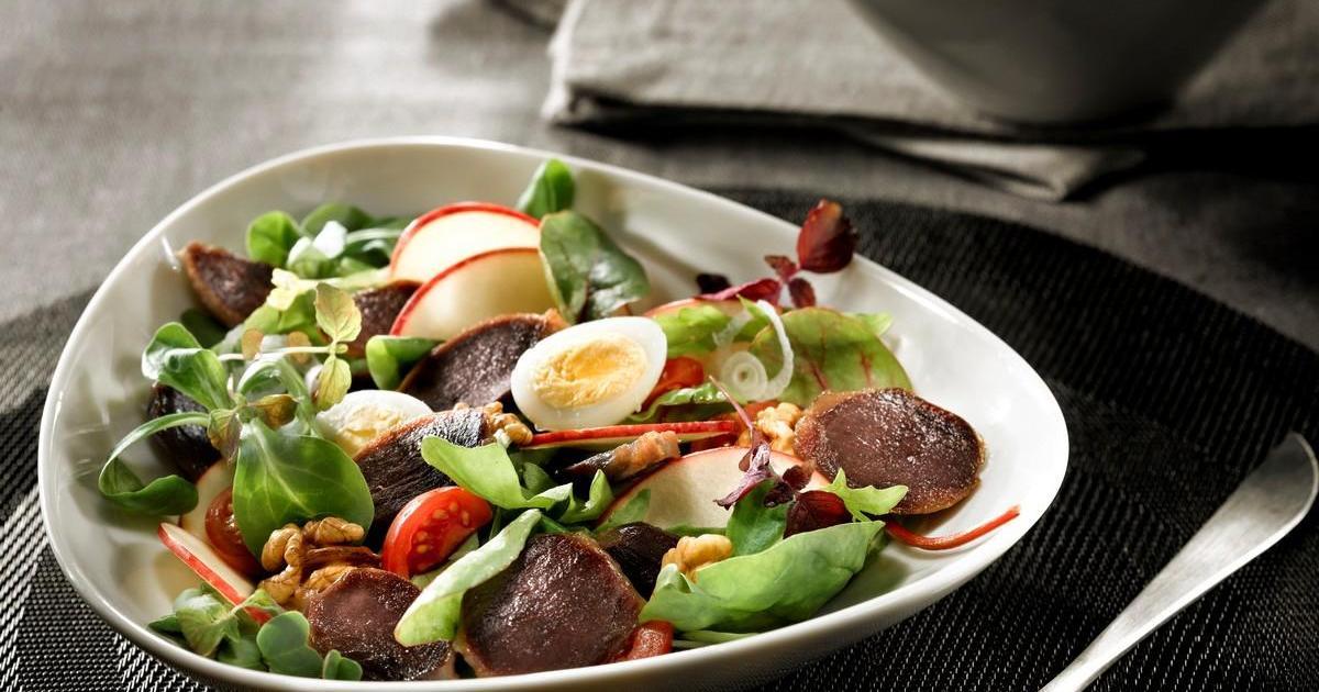 Recette salade de g siers de canard confits lafitte et for Documentaire cuisine gastronomique