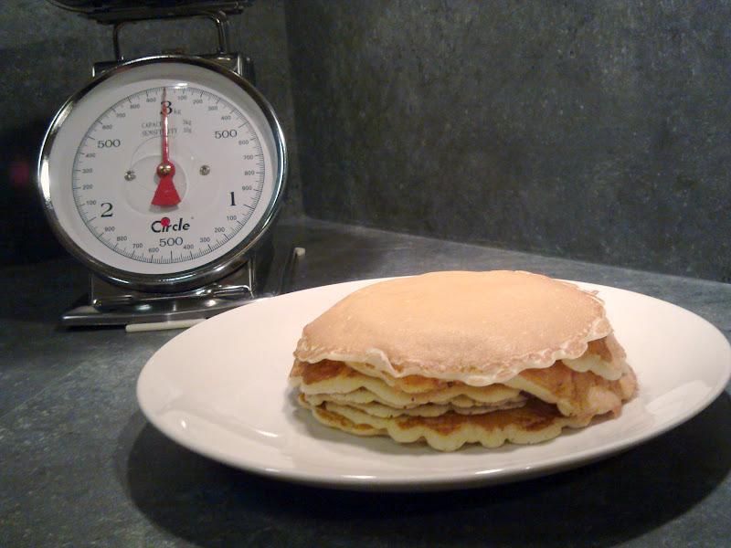Recette les pancakes originaux 750g for Menus originaux faciles