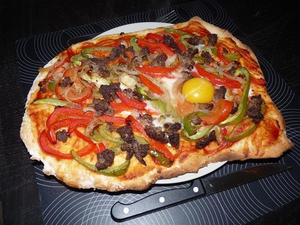 Recette pizza orientale 750g - Cuisine orientale facile ...