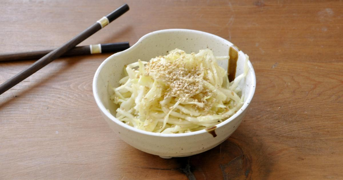 Comment faire une salade de chou blanc comme au resto - Restaurant japonais porte de versailles ...