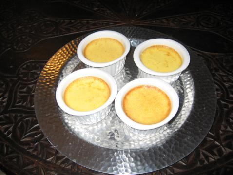 Recette petits pots de cr me vanille 750g - Recette creme dessert vanille ...