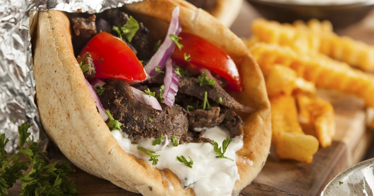 Recette sandwich grec ou gyro 750g for Cuisine 750g