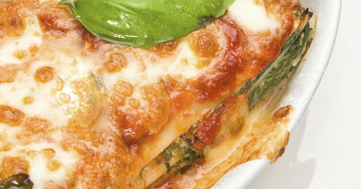 Recette Lasagne Saumon Epinards Et Sa Sauce Bechamel 750g