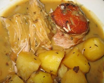 Recettes de rouelle de porc en cocotte les recettes les - Comment cuisiner une rouelle de porc cocotte ...