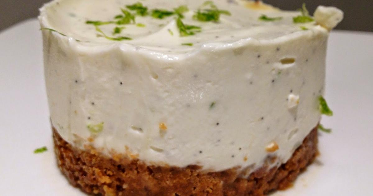 Recette - Cheesecake vanille-citron vert | 750g