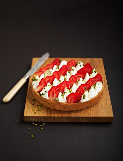 recette tarte fraise et mascarpone 750g. Black Bedroom Furniture Sets. Home Design Ideas