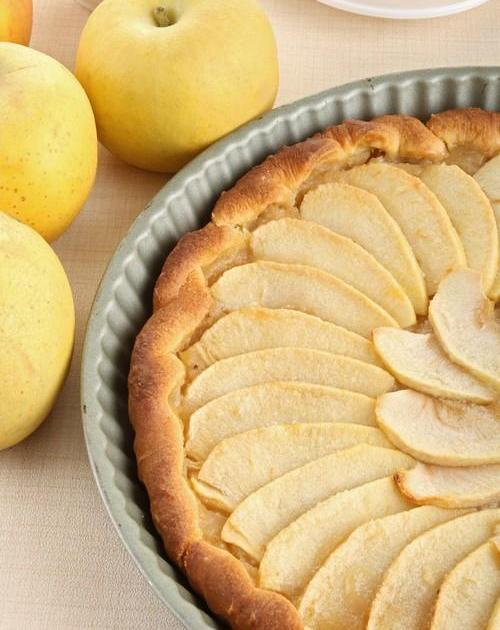 Recette tarte aux pommes traditionnelle 750g - Recette tarte normande traditionnelle ...