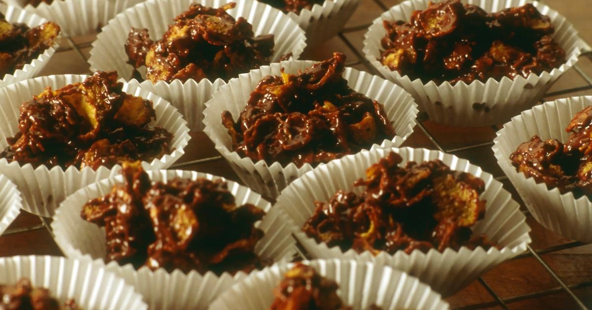 Recette Roses Des Sables Onctueuses Aux Corn Flakes Et Chocolat