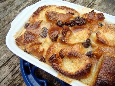 recette la version anglaise du pain perdu le bread and butter pudding 750g. Black Bedroom Furniture Sets. Home Design Ideas
