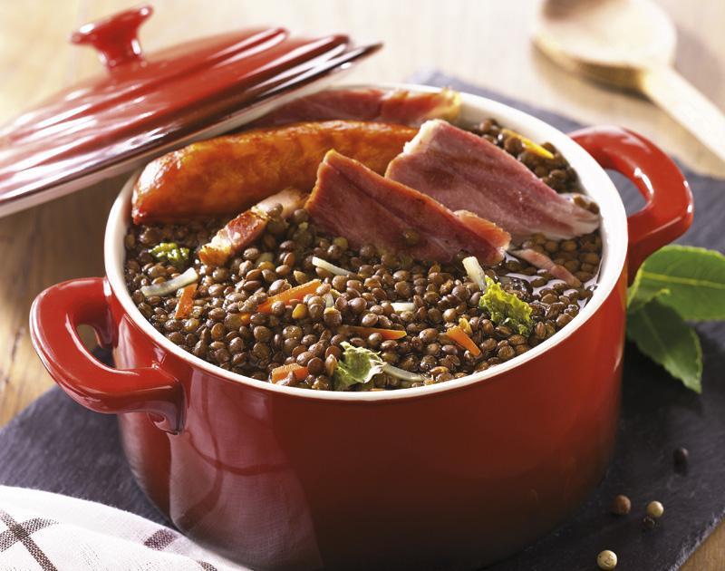 Recette petit sal express aux lentilles cuisin es 750g for Cuisine 750g