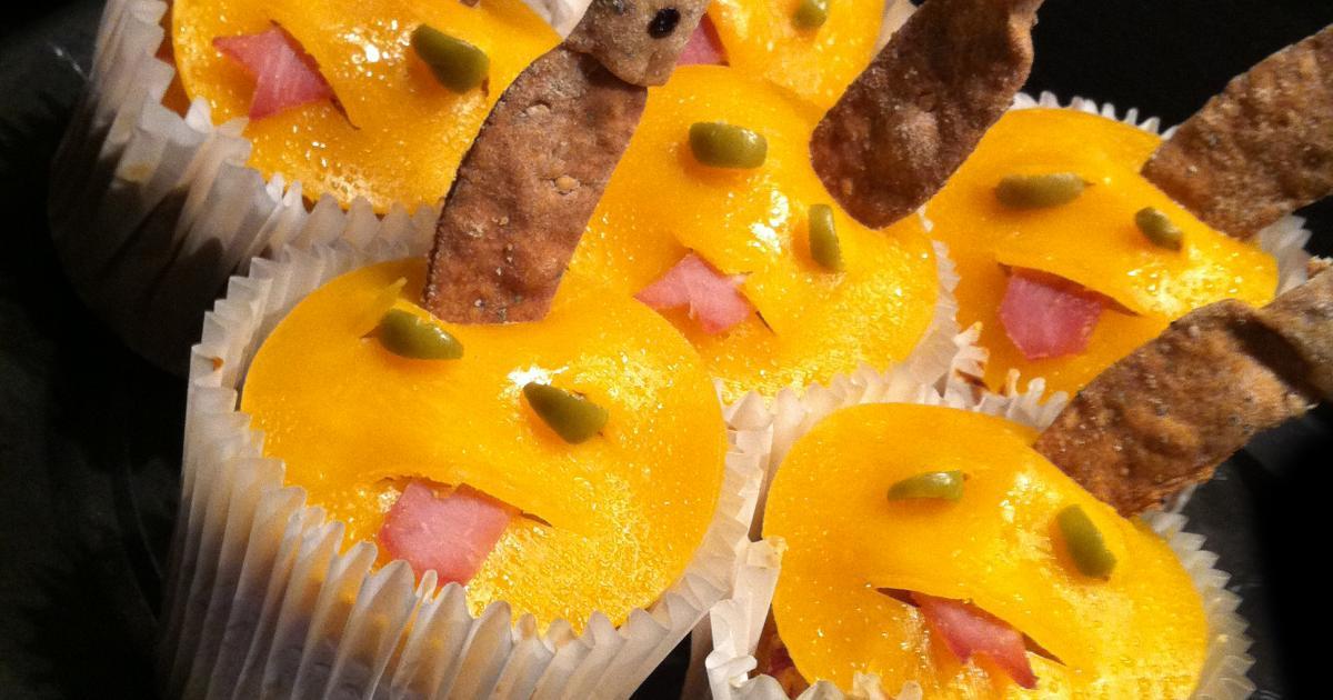 Recette halloween blob muffins 750g - Aperitif dinatoire halloween ...
