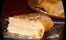 Gâteau de crèpes vanille/caramel