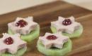 Canapés de kiwi au foie gras et pointe de confit de figues