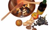 Wok de fruits d'automne au gingembre et à la vanille