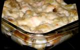 Gnocchis de courgettes, saumon et parmesan