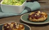 Tartelettes tatin au magret séché et aux pommes