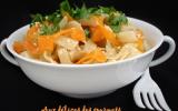 Nouilles sautées aux carottes et sésame