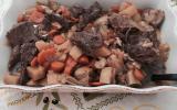 Sanglier et légumes cocotte minute