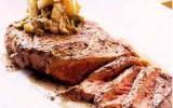 Steak au poivre flambé