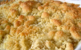 Crumble ananas gingembre