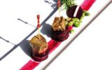 Agneau aux épices, méli mélo de betteraves et navets